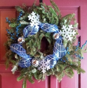 Fresh Cut Door Wreath