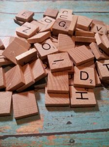 Scrabble Tiles Ornaments