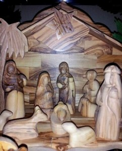 Wood Nativity