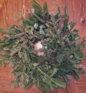 Fresh Cut Fir Wreath