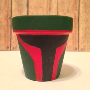 Boba Fett Flower Planter