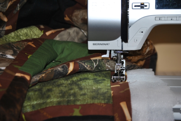 Quilting on quilting day