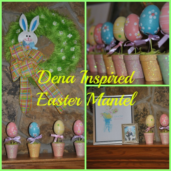 Easter Mantel - Dena Inspired